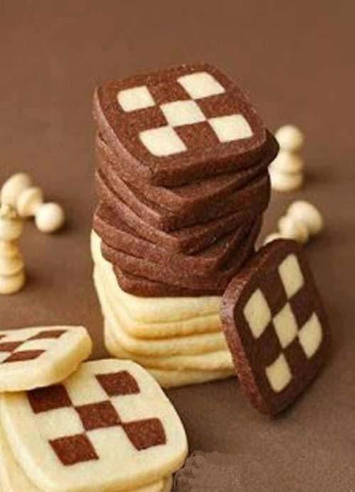 آشنایی با روش تهیه بیسکویت شطرنجی