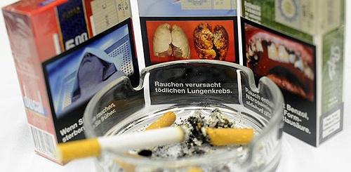 آلمان | تصاویر وحشتانگیز مرگ روی پاکتهای سیگار
