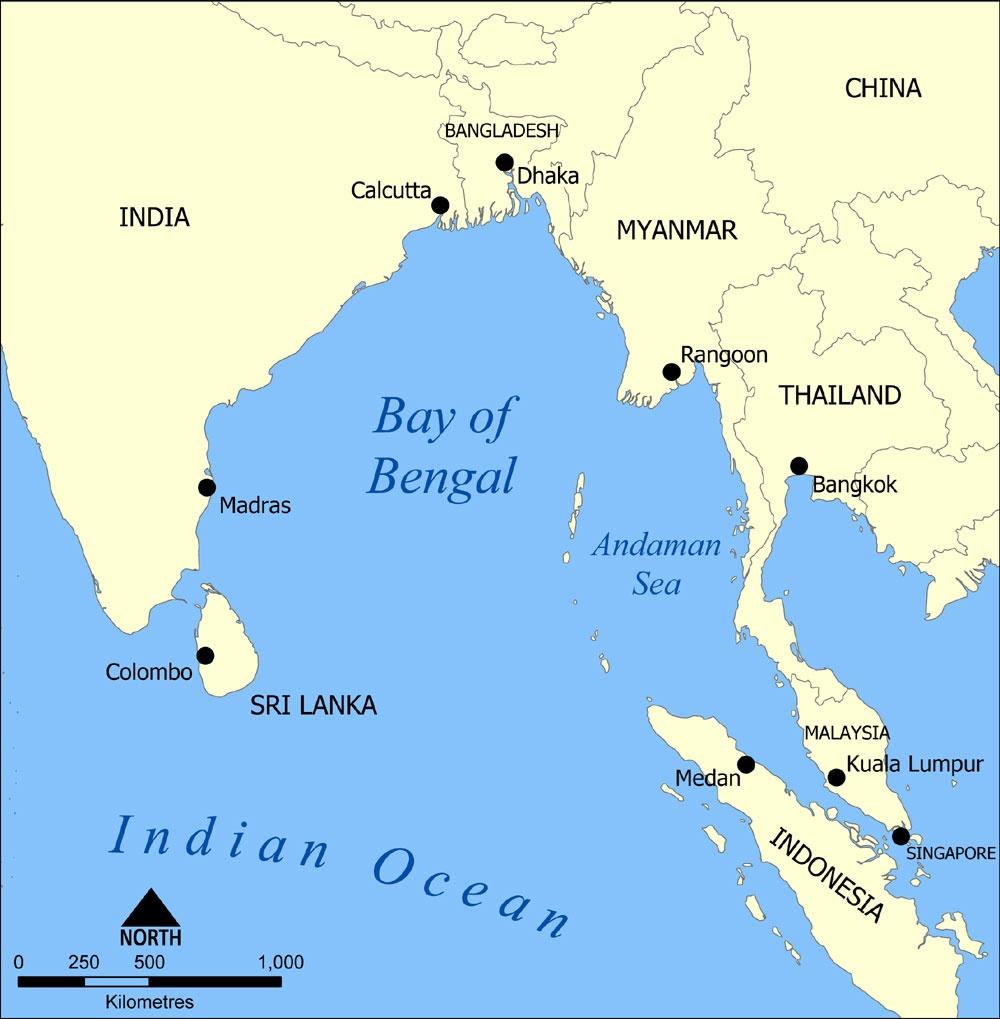 آشنایی با خلیج بنگال