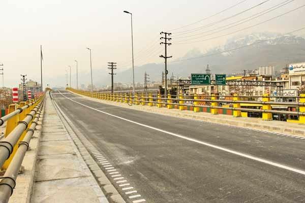 بهرهبرداری از پلهای تقاطع بلوار ارتش با بزرگراههای امام علی و صیاد