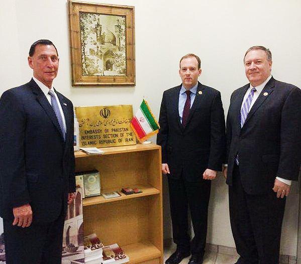 نمایندگان کنگره آمریکا در حافظ منافع ایران