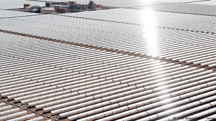 مغرب در راه تولید انبوه انرژی خورشیدی