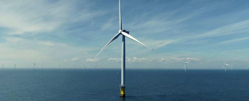 بنای بزرگترین نیروگاه بادی جهان در آبهای بریتانیا