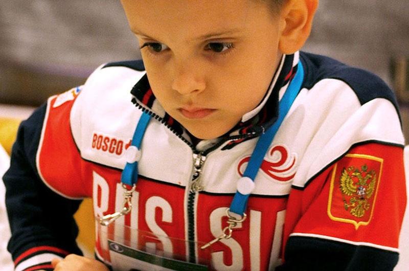 کالسوف، نابغه هفت ساله شطرنج