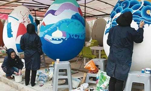 حجمهای تخممرغی به بوستان میآیند!