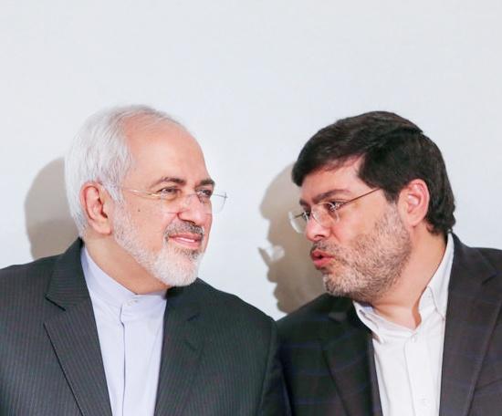 سخنان محمدجواد ظریف در مراسم تقدیر از محمد مرندی