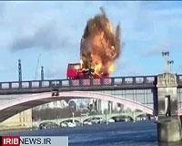 انفجار اتوبوس در مرکز لندن، شهروندان را شوکه کرد