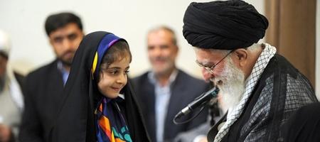 حاشیههای دیدار خانوادههای شهدای مدافع حرم با رهبر معظم انقلاب