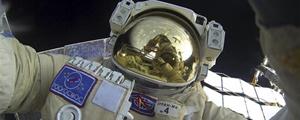 یک سلفی زیبا از ایستگاه فضایی بینالمللی