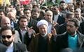 شرکت آیت الله هاشمی رفسنجانی در راهپیمایی ۲۲ بهمن