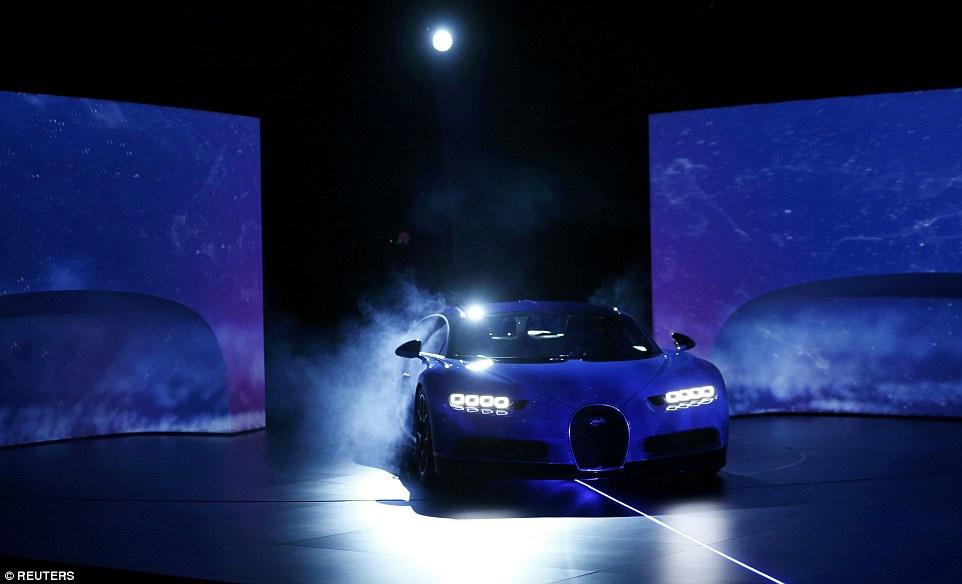 آغاز پیشفروش سریعترین خودروی جهان، بوگاتی کایرون