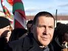 رهبر جدایی طلبان باسک  اسپانیا از زندان آزاد شد