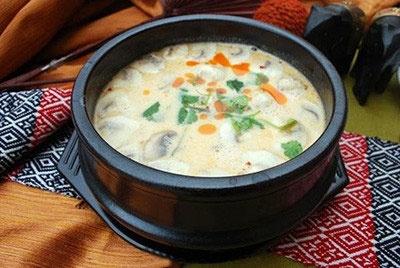 سوپ قارچ کلاسیک
