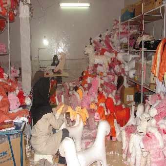 راهاندازی تولیدی عروسک