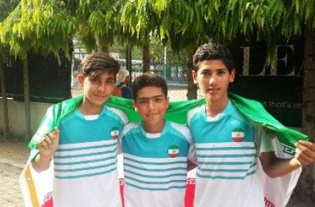 ایران در جایگاه پنجم مسابقات تنیس پیش مقدماتی گروه جهانی ایستاد