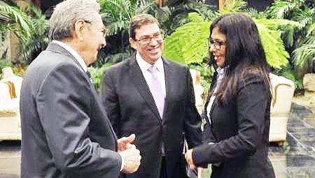 کوبا و ونزوئلا در برابر تهدید آمریکا اعلام همبستگی کردند