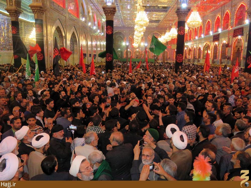 گزارش تصویری | کربلا در شب شهادت حضرت زهرا (س)