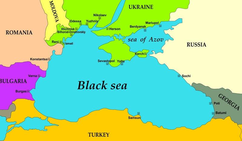 آشنایی با دریای سیاه