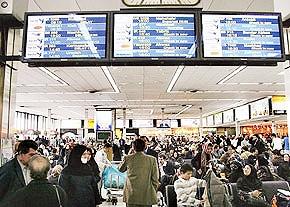 جابهجایی یک میلیون مسافر با ۹ هزار پرواز در دور نخست سفرهای نوروزی