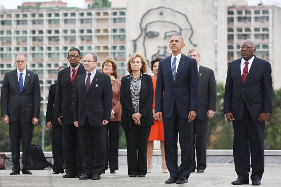 چرخ بازیگر؛ اوباما و چهگوارا
