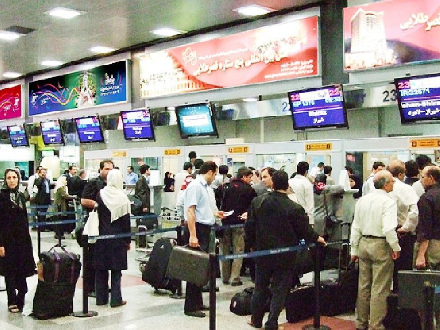 افزایش سفرهای هوایی در نوروز | کاهش ۱۳ درصدی سفرهای خارجی