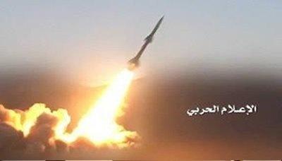 حمله موشکی به محل استقرار مزدوران عربستان در جوف یمن