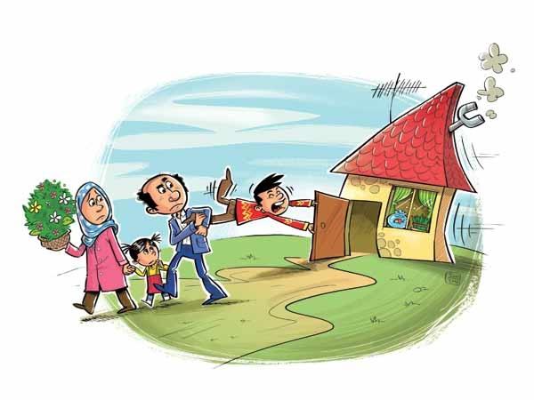 جنجال در عیددیدنی!