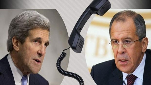 تماس تلفنی لاوروف و کری | مذاکرات سوریه نباید به تعویق بیفتد