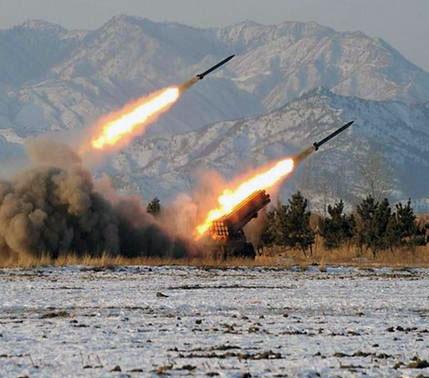 کره شمالی آمریکا و کره جنوبی را به حمله اتمی تهدید کرد