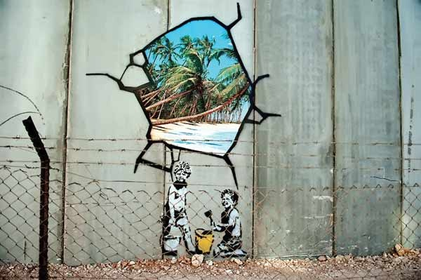 کشف هویت مشهورترین نقاش خیابانی