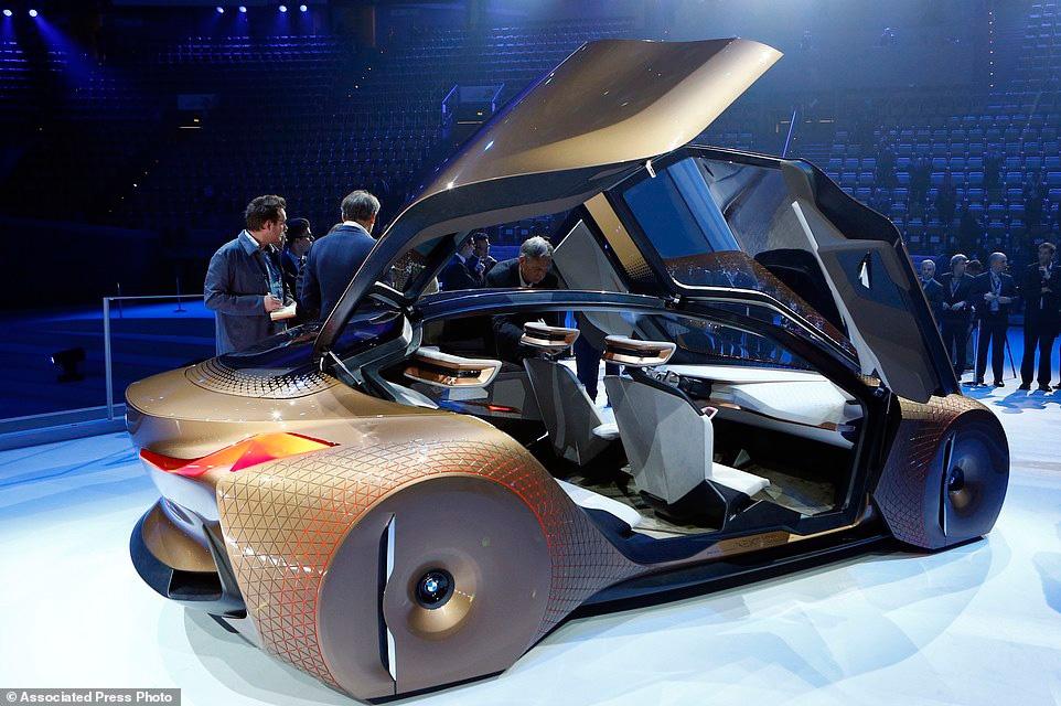 تصاویری از طرح مفهومی جدیدترین خودروی بی ام و