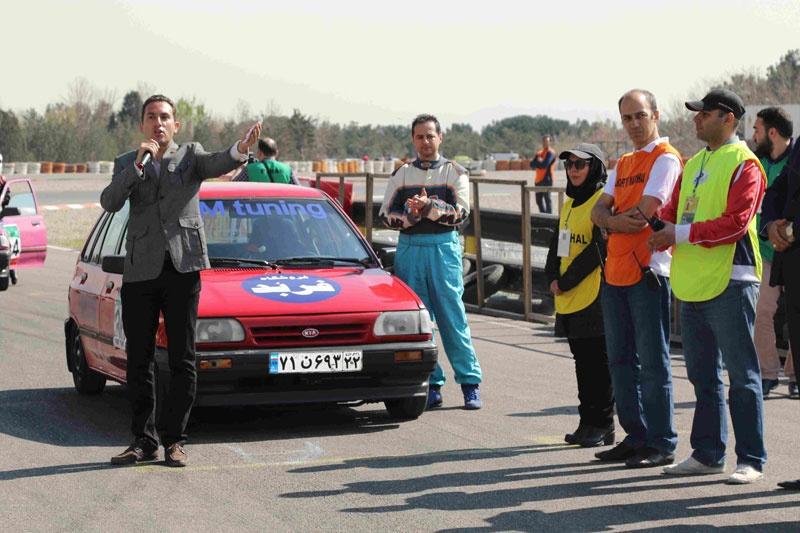 تصاویری از مسابقات اتومبیلرانی سرعت