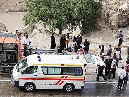 فوت ۳۵۱ نفر در حوادث ترافیکی نوروز ۹۵
