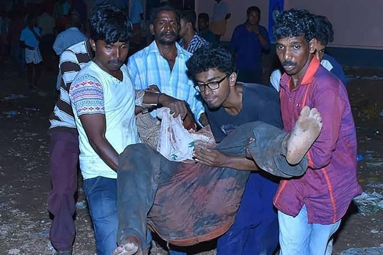 فیلم   آغاز تحقیقات درباره آتشسوزی معبدی هند با بیش از ۱۰۰ کشته