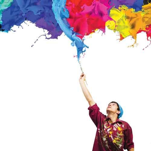 دنیای رنگ... دنیای نقش... دنیای خیال!