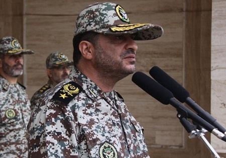 قرارگاه پدافند هوایی با اقتدار در رژه روز ارتش شرکت میکند