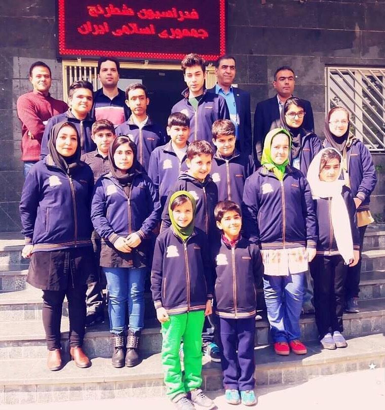 تیم ملی ایران قهرمان شطرنج نوجوانان آسیا شد