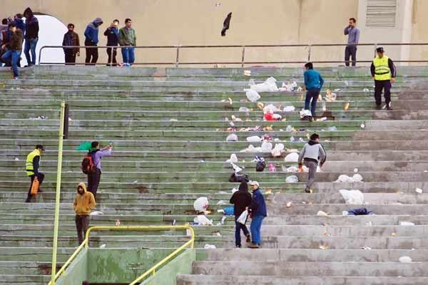تداوم کمپین «ورزشگاه بدون زباله» در مسابقات ورزشی