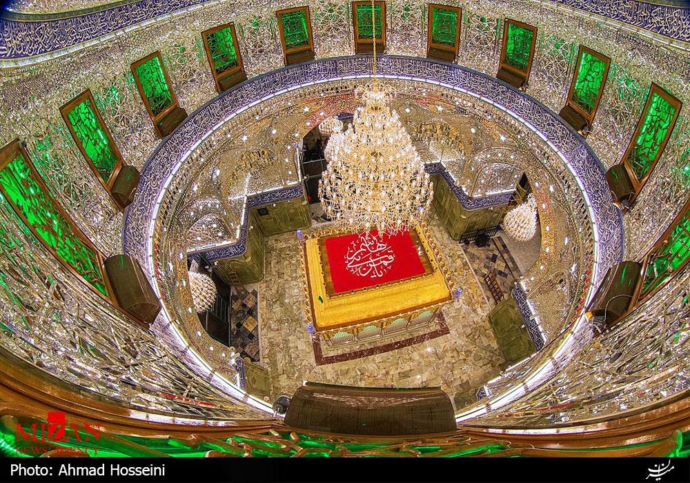 ضریح جدید حضرت عباس (ع) در کربلا رونمایی شد