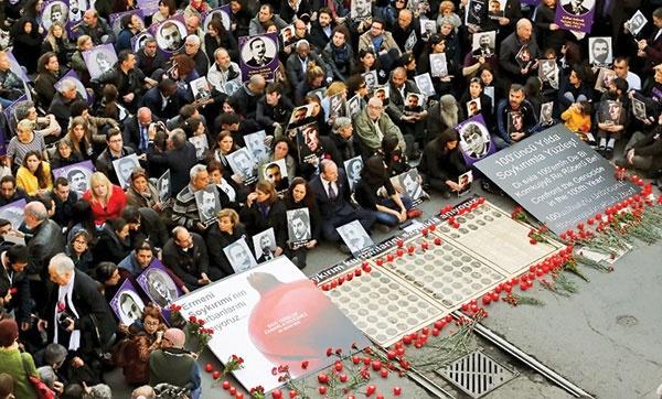 ۱۰۰ سال اعتراض به کشتار ارامنه