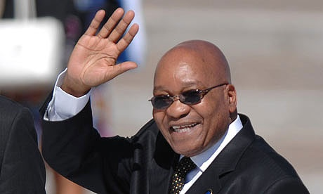 رئیس جمهوری آفریقای جنوبی وارد تهران شد
