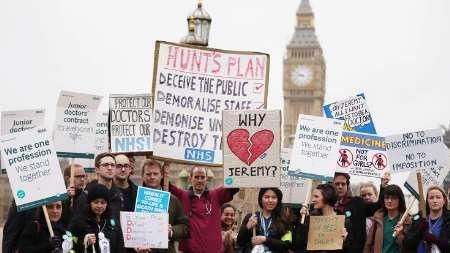 آغاز اولین اعتصاب فراگیر و تاریخی پزشکان در انگلیس