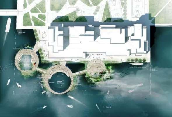 ساخت جزایر دستساز در یک پایتخت اروپایی