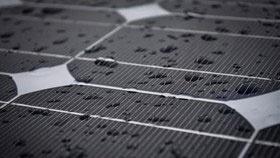 تولید برق از باران با سلول خورشیدی جدید