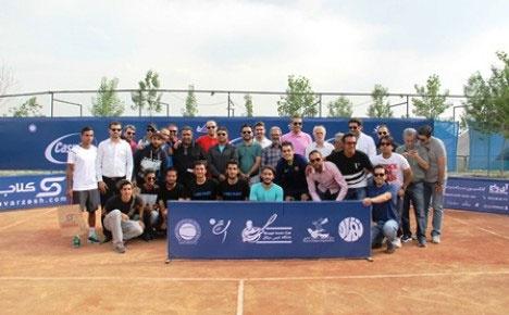 انوشا شاهقلی قهرمان مسابقات جایزه بزرگ تنیس کشور شد