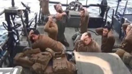 آمریکا فرمانده ملوانان بازداشت شده در ایران را برکنار کرد