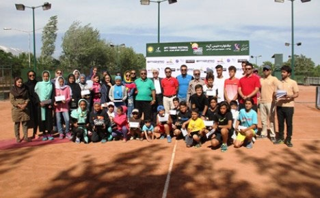 جشنواره بزرگ تنیس با معرفی برترینها به خط پایان رسید