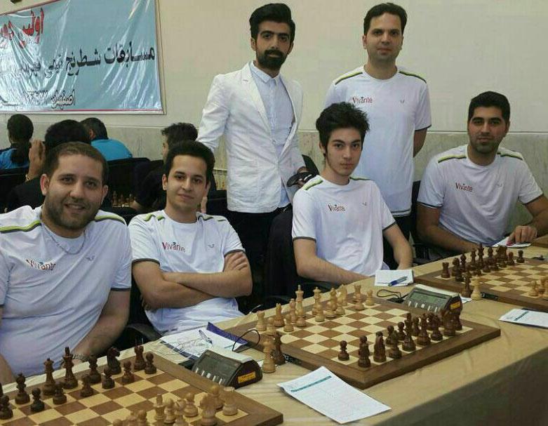 تیم رشت قهرمان مسابقات شطرنج شهرهای ایران شد