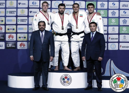 جواد محجوب مدال برنز جودوی جایزه بزرگ قزاقستان را به دست آورد