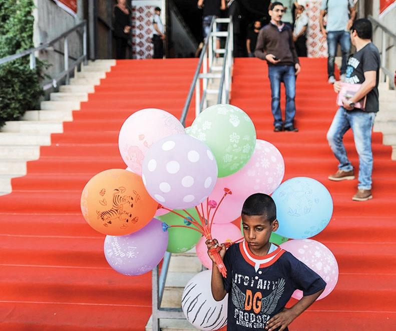 فرش قرمز جشنواره غزه پهن شد